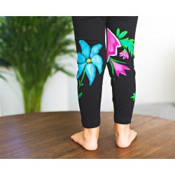 Hand painted girl leggings Frida Look